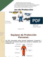 Equipos de Protección Personal (Pc)