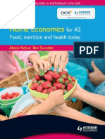 Food Nutrition and Health Today