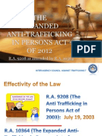 Anti Human Trafficking Law