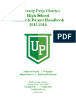 UPCHS Student Handbook 2015- 2016