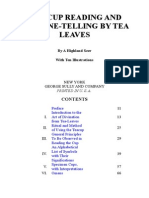 Tea-cup Reading and Fortune-telling by Tea Leaves