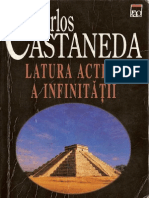 Carlos Castaneda Latura Activa a InfinitatiI