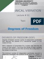 Mechanical Vibration Lec02