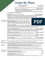 Resume Updated 10-9