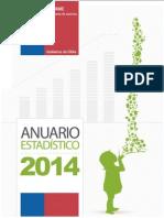 Anuario Estadistico 2014 SENAME