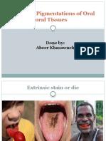 Oral Pigmentations