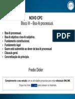Slide - Bloco III – Boafe Processual