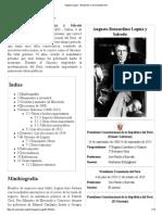 Augusto Leguía - Wikipedia, La Enciclopedia Libre