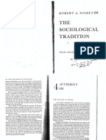 NISBET - The Sociological Tradition, Cap. 4