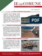 Notizie Dal Comune di Borgomanero dell'8 Ottobre 2015