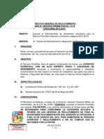 Convocatoria Premilitar 2014-2015