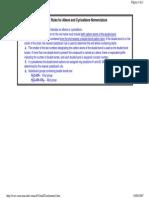 IUPAC alkenes - IUPAC nomenclatura según la IUPAC