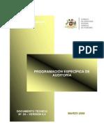 DOCUMENTO N° 24 - PROGRAMACIÓN DE AUDITORÍA. V.0.4
