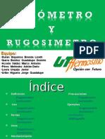 Durometro y Rugosimetro