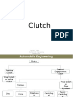 Types of Clutch