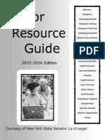 Sen. Krueger's Senior Resource Guide, 2015-2016