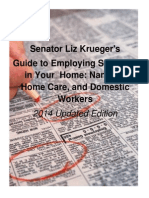 Sen. Krueger's Guide to Employing Someone in Your Home
