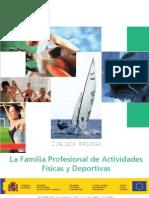 La Familia Profesional de Actividades Físicas y Deportivas