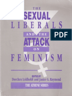 The Sexual Liberals and the Attack on Feminism