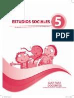 Guia Del Docente Sociales 5to