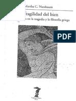 MARTHA NUSSBAUM-La fragilidad del bien. Fortuna y ética en la tragedia y la filosofía griega.pdf