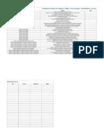 Plano de Estudos - Linguagens, Códigos e suas Tecnologias