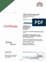 Certificado 9001 En