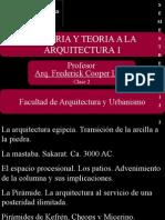 HISTORIA 1 - Clase 2  Arquitectura Egipcia.ppt