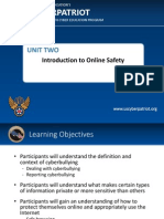 unit 2 - introduction to online safety
