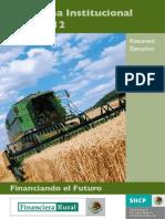 Programa Institucional 2007-2012