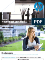 How to Certify hp