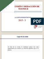 Redaccion de Una Carta Administrativa