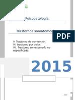 Somatomorfos- Conversión, Dolor y No Especificado