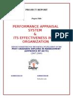 10402701 Dabur Performance Appraisal (1)