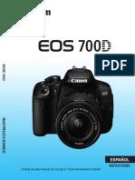 EOS 700D Instruction Manual ES