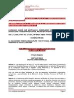 Ley de la Defensoria de los Derechos Humanos del Pueblo de Oaxaca