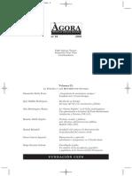 ÀGORA REVISTA DE CIENCIAS SOCIALES Centre d'Estudis Polítics i Socials Fundación CEPS
