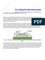 An Efficient RDL Routing for Flip Chip Designs