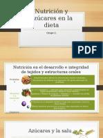 Nutrición y Azúcares en La Dieta