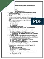 Cuestionario Pericarditis