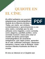Quijote en El Arte.