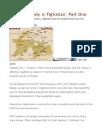 Civil War Likely in Tajikistan; Part One