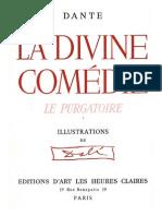 Dali Salvador - La Divina Comedia - El Purgatorio (Dibujos)