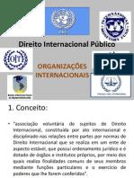 DIP - Slide 5 - Organizações Internacionais
