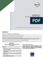 NISSAN March 2012 - Manual do Proprietario