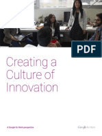 Creating Culture Innovation