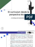 El Curriculum Desde La Perspectiva Tecnica