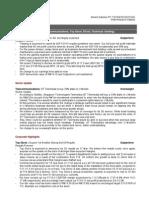 RHB Equity 360° (Tanjong, Telecommunications, Top Glove, BToto; Technical