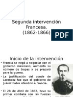 segunda intervencion francesa