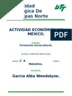 Actividad Economica De Mexico.docx